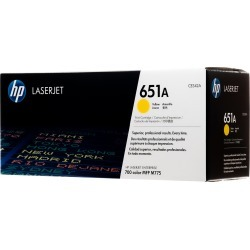 Original HP 651A Yellow CE342A LaserJet Toner Cartridge  -  clear found on Bargain Bro Philippines from Toner Buzz for $379.00