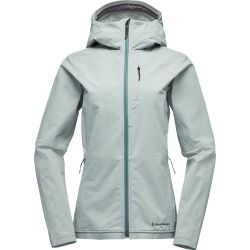 Black Diamond Equipment Women's Cirque Shell Jacket Size XL, in Atmosphere found on Bargain Bro India from Black Diamond Equipment for $175.00