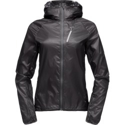 Black Diamond Equipment Women's Distance Wind Shell Jacket Size XS, in Black found on Bargain Bro India from Black Diamond Equipment for $129.00