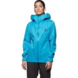 Black Diamond Equipment Women's Stormline Stretch Rain Shell Jacket Size Medium, in Ocean found on Bargain Bro India from Black Diamond Equipment for $149.00