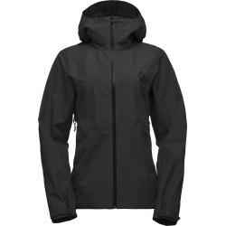 Black Diamond Equipment Women's Liquid Point Shell Jacket Size XS, in Black found on Bargain Bro India from Black Diamond Equipment for $259.00