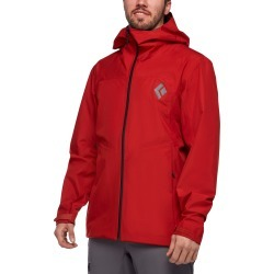Black Diamond Equipment Men's Liquid Point Shell Jacket Size Large, in Red Rock found on Bargain Bro India from Black Diamond Equipment for $259.00