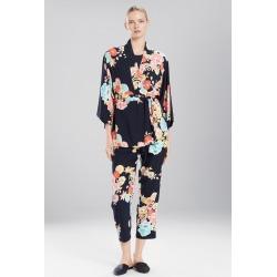 Natori Saipan Wrap, Women's, Black, Size XS Natori