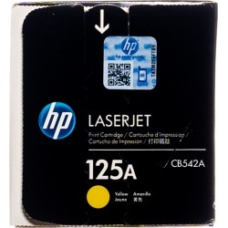 Original HP 125A Yellow CB542A LaserJet Toner Cartridge  -  clear found on Bargain Bro India from Toner Buzz for $78.00