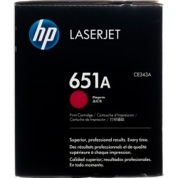 Original HP 651A Magenta CE343A LaserJet Toner Cartridge  -  clear found on Bargain Bro India from Toner Buzz for $379.00