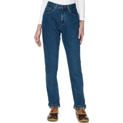 Women's Double La Jeans, Relaxed Fit Flannel-Lined Blue 20 Reg found on Bargain Bro Philippines from L.L. Bean for $69.95
