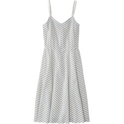 Women's Signature Strappy Seersucker Dress Blue 0 found on Bargain Bro India from L.L. Bean for $69.99