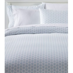 Sunwashed Percale Comforter Cover, Print Blue found on Bargain Bro India from L.L. Bean for $99.00