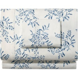 Premium Supima Flannel Sheet Collection, Print Blue found on Bargain Bro Philippines from L.L. Bean for $39.95