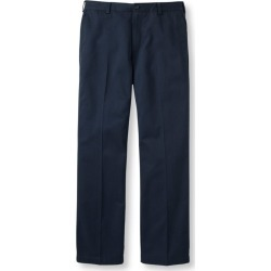 Men's Wrinkle-Free Double LA Chinos, Standard Fit Plain Front Blue 34 Wx34 Ins found on Bargain Bro India from L.L. Bean for $44.95