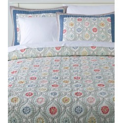 Botanical Border Quilt Collection Multi Color found on Bargain Bro Philippines from L.L. Bean for $39.95