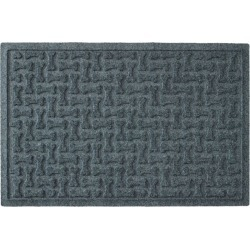 Recycled Waterhog Dog Mat, Herringbone Blue found on Bargain Bro Philippines from L.L. Bean for $29.95