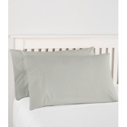 280-Thread-Count Pima Cotton Percale Pillowcases, Set of Two Green found on Bargain Bro India from L.L. Bean for $44.95