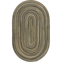 L.L.Bean Braided Wool Rug, Oval Gray found on Bargain Bro Philippines from L.L. Bean for $369.00