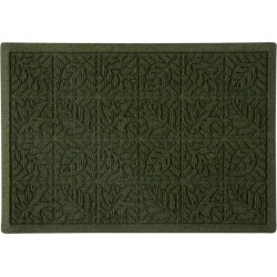 Heavyweight Recycled Waterhog Doormat, Leaf Green found on Bargain Bro Philippines from L.L. Bean for $44.95