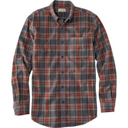 Men's Scotch Plaid Flannel Shirt, Slightly Fitted Gray L found on Bargain Bro India from L.L. Bean for $54.95