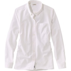 Women's Lakewasheda Organic Cotton Oxford Shirt White L found on Bargain Bro India from L.L. Bean for $54.95