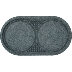 Recycled Waterhog Dog Mat, Placemat Blue found on Bargain Bro Philippines from L.L. Bean for $29.95
