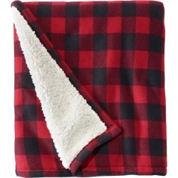 Sweater Fleece Throw Red found on Bargain Bro Philippines from L.L. Bean for $39.95