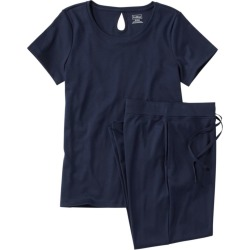 Women's Supima Pajama Set Blue Xs found on Bargain Bro India from L.L. Bean for $59.95