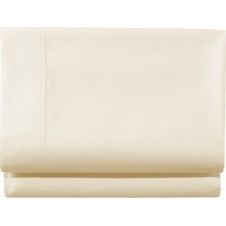 280-Thread-Count Pima Cotton Percale Sheet, Fitted White found on Bargain Bro India from L.L. Bean for $39.95