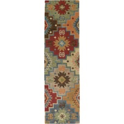 Momeni Lodge Wool Hooked Runner Multi Color found on Bargain Bro Philippines from L.L. Bean for $199.00