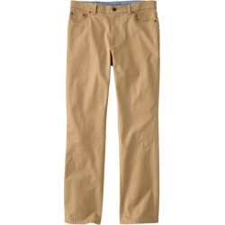 Men's LakewashedA Five-Pocket Stretch Khakis, Standard Fit Tan 30 Wx30 Ins found on Bargain Bro India from L.L. Bean for $54.95