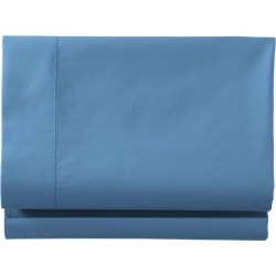 280-Thread-Count Pima Cotton Percale Sheet, Fitted Blue found on Bargain Bro Philippines from L.L. Bean for $39.95