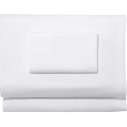 TENCEL Lyocell Percale Sheet Collection White found on Bargain Bro Philippines from L.L. Bean for $199.00