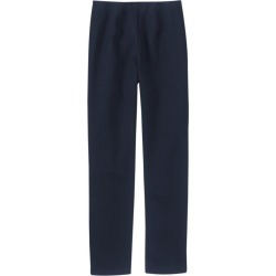 Women's Perfect Fit Cotton Pants, Slim Blue S Reg found on Bargain Bro Philippines from L.L. Bean for $39.95