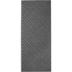 Heavyweight Recycled Waterhog Mat, Runner, Plaid Gray found on Bargain Bro Philippines from L.L. Bean for $120.00