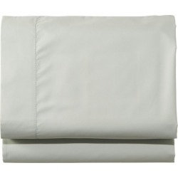 280-Thread-Count Pima Cotton Percale Sheet, Flat Green found on Bargain Bro India from L.L. Bean for $39.95