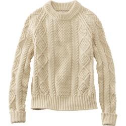 Women's Signature Cotton Fisherman Sweater White Xxs found on Bargain Bro India from L.L. Bean for $79.99