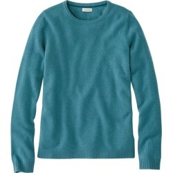 Women's Classic Cashmere, Crewneck Blue Xs found on Bargain Bro Philippines from L.L. Bean for $79.99