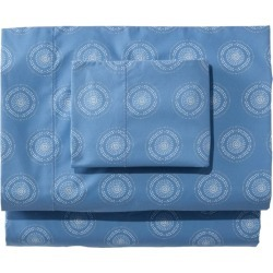 280-Thread-Count Pima Cotton Percale Sheet Set, Print Blue found on Bargain Bro Philippines from L.L. Bean for $139.00