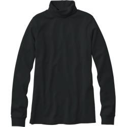 Women's L.L.Bean Interlock Turtleneck, Long-Sleeve Black M found on Bargain Bro Philippines from L.L. Bean for $22.95
