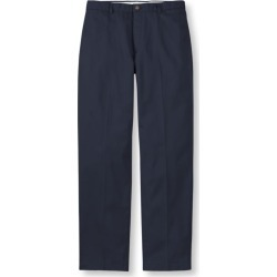 Men's Wrinkle-Free Double LA Chinos, Natural Fit Plain Front Blue 40 Wx29 Ins found on Bargain Bro India from L.L. Bean for $49.95