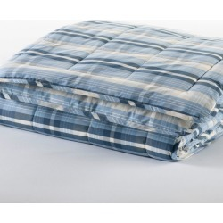 Ultrasoft Cotton Comforter, Plaid Blue found on Bargain Bro Philippines from L.L. Bean for $129.00