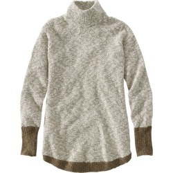 Women's Signature Cotton/Linen Ragg Sweater Tan S found on Bargain Bro India from L.L. Bean for $59.99