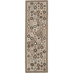 Wool Hooked Runner, Coins Multi Color found on Bargain Bro Philippines from L.L. Bean for $249.00