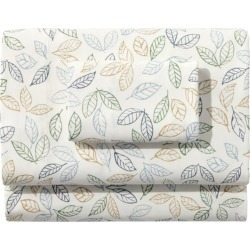 Tossed Leaves Flannel Sheet Collection Multi Color found on Bargain Bro Philippines from L.L. Bean for $119.00