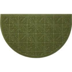 Heavyweight Recycled Waterhog Doormat, Crescent Leaf Green found on Bargain Bro Philippines from L.L. Bean for $150.00