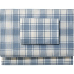 Ultrasoft Comfort Flannel Sheet Set, Check Plaid found on Bargain Bro Philippines from L.L. Bean for $129.00