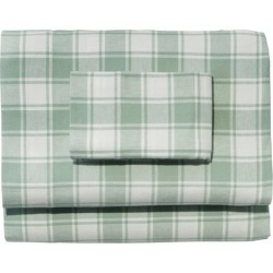 Ultrasoft Comfort Flannel Sheet Set, Check Multi Color found on Bargain Bro Philippines from L.L. Bean for $119.00