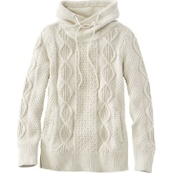 Women's Signature Cotton Funnelneck Sweater White Xs found on Bargain Bro India from L.L. Bean for $109.00