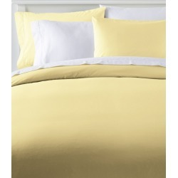 280-Thread-Count Pima Cotton Percale Comforter Cover Collection Yellow found on Bargain Bro India from L.L. Bean for $109.00