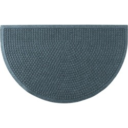 Everyspace Recycled Waterhog Doormat, Crescent Blue found on Bargain Bro Philippines from L.L. Bean for $49.95