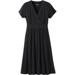 Women's Summer Knit Dress Black L found on Bargain Bro Philippines from L.L. Bean for $54.95
