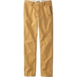 Men's Signature Washed Canvas Cloth Pants, Slim Straight Tan 31 Wx29 Ins found on Bargain Bro from L.L. Bean for USD $30.39