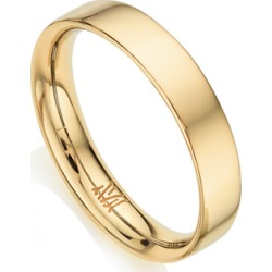 Gold Fiji Band Stacking Ring found on Bargain Bro UK from Monica Vinader
